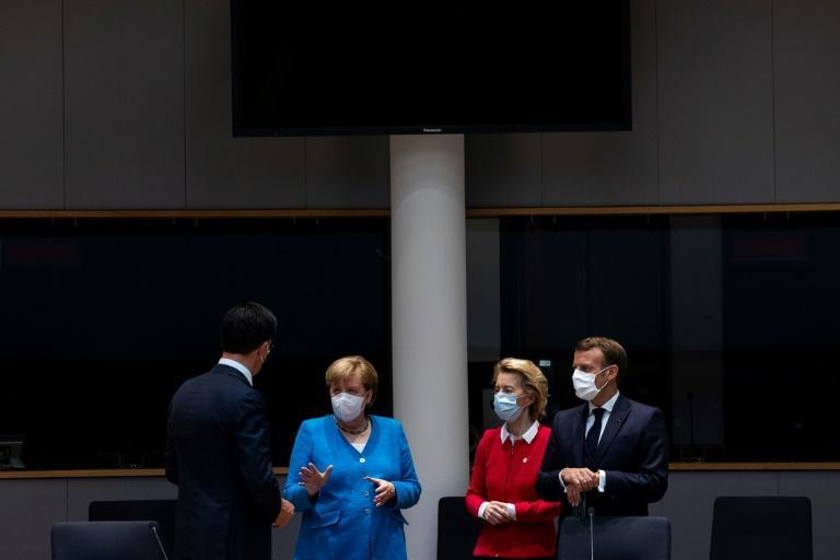 European leaders have been holding a summit to work out a huge recovery aid package