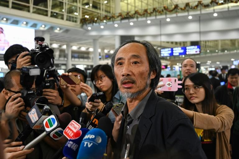 Ma Jian, whose books are banned in mainland China, is due to promote his latest novel 'China Dream', described by publisher Penguin as 'a biting satire of totalitarianism'