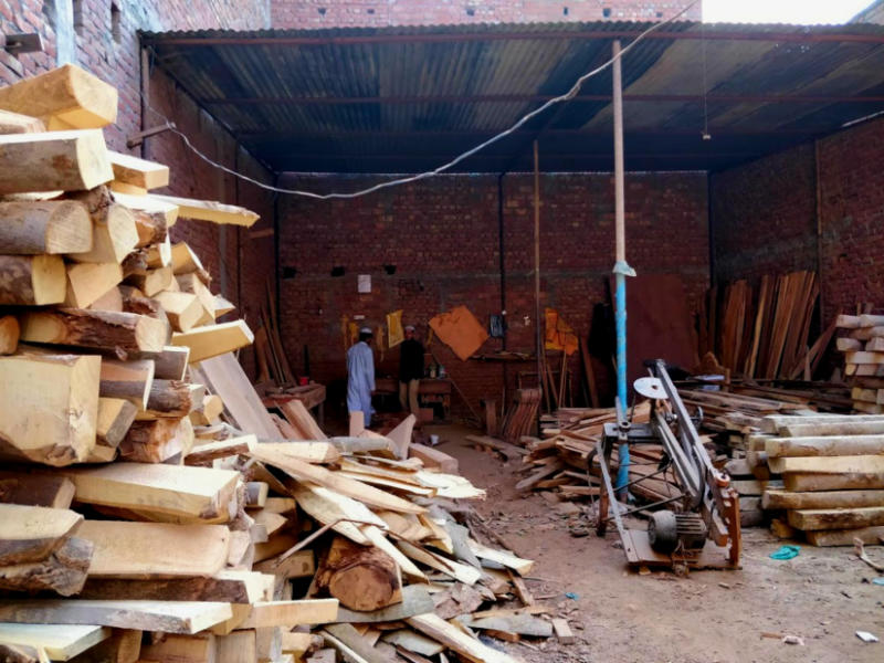 Barring Jumma (Friday), the artisans are expected to work every single day