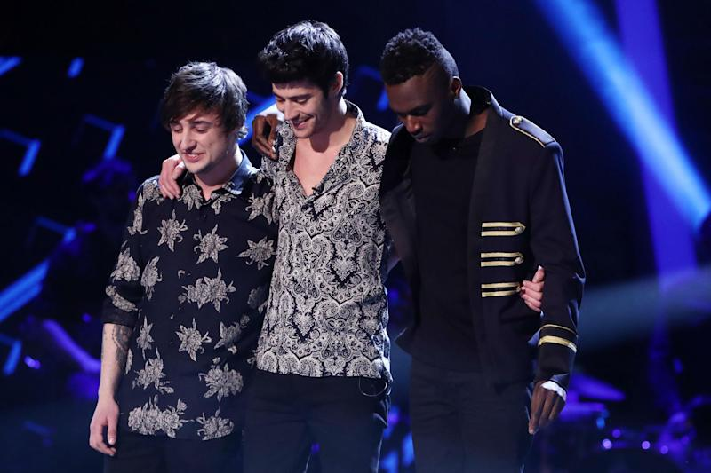 Winner: Into The Ark are runner-up as Mo Adeniran wins The Voice 2017: Rex/ITV