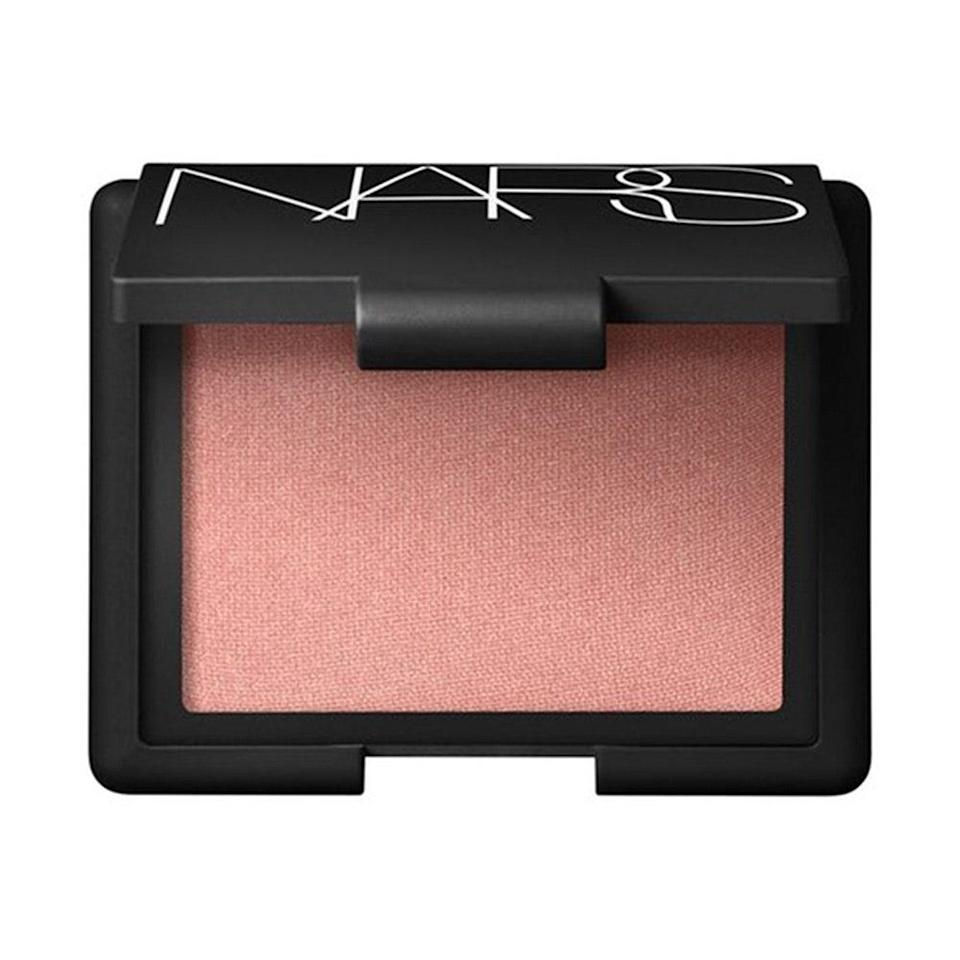 """<p><strong>Peach</strong></p> <p>The most universally flattering, can't-go-wrong blush shade? Peach. """"Anybody can put on peach blush and look fantastic,"""" says Ciucci (which is why you'll see this shade as a pick for multiple skin tones). On fair skin, peach is especially flattering if your complexion has yellow undertones. """"It has orange and yellow tones, so it enhances the natural flush,"""" explains Murphy. And this is a case where it's all about texture: A formula that's sheer and blendable is going to look the most natural. </p> <p>When in doubt, """"look for descriptive words like 'satin' or 'sheer' on the packaging,"""" says Ciucci. Or opt for a blush with subtle shimmer, like the iconic <a href=""""https://www.allure.com/review/nars-blush-orgasm?mbid=synd_yahoo_rss"""" rel=""""nofollow noopener"""" target=""""_blank"""" data-ylk=""""slk:Nars Blush in Orgasm"""" class=""""link rapid-noclick-resp"""">Nars Blush in Orgasm</a>. """"Shimmery formulas are going to be easier to sheer out on fair skin so it's not overwhelming.""""</p> <p><strong>$30</strong> (<a href=""""https://shop-links.co/1714961510156189507"""" rel=""""nofollow noopener"""" target=""""_blank"""" data-ylk=""""slk:Shop Now"""" class=""""link rapid-noclick-resp"""">Shop Now</a>)</p>"""