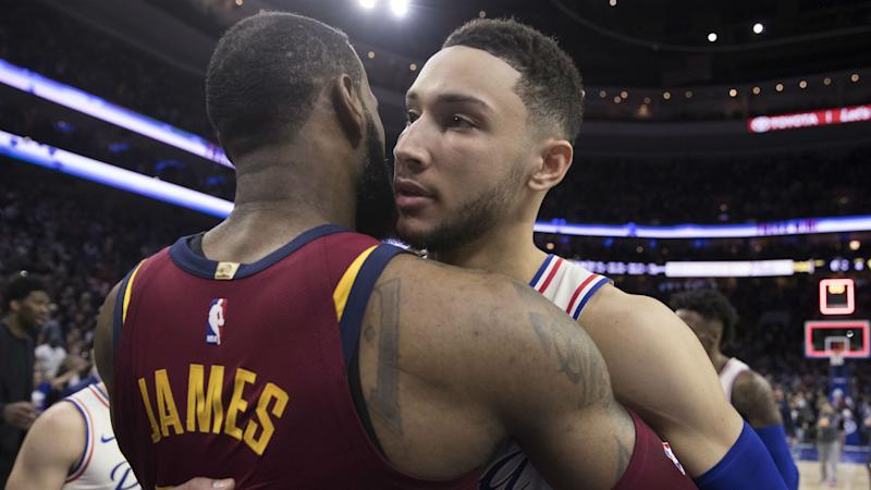 Simmons lauds influence of 'big brother' LeBron