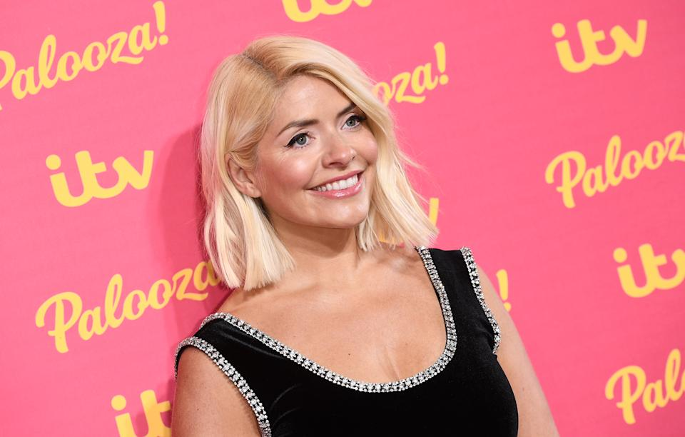 Holly Willoughby is 40.