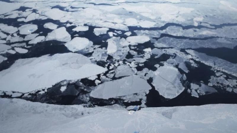 Warmer temperatures shrink Arctic sea ice to 2nd lowest-level ever