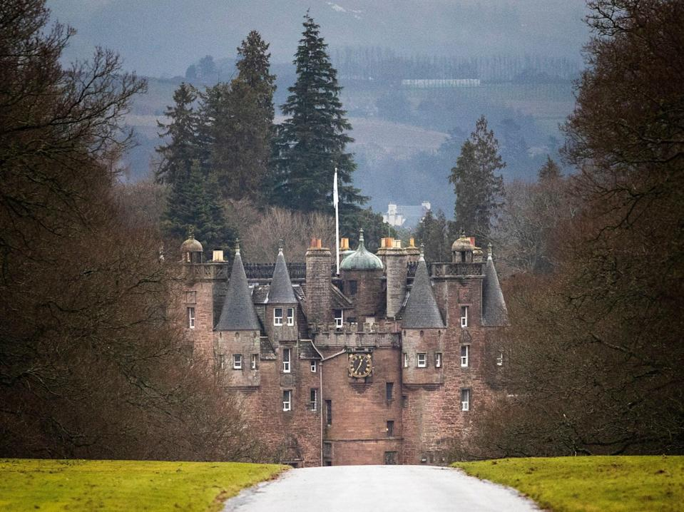 Simon Bowes-Lyon, the Earl of Strathmore, has been jailed for 10 months after sexually assaulting a woman at Glamis Castle in ScotlandJane Barlow/PA