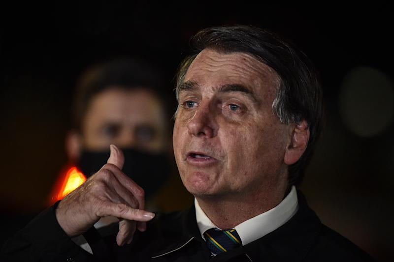 O presidente Jair Bolsonaro. Foto: Andre Borges/NurPhoto (via Getty Images)