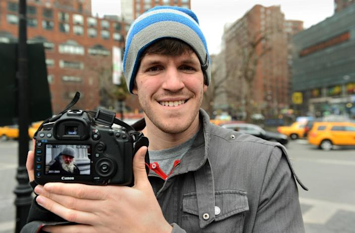 """<p>Brandon Stanton didn't enter school or even graduate expecting to be behind the lens of one of the most popular photography projects on the Internet. Before the <a href=""""http://www.humansofnewyork.com/"""" rel=""""nofollow noopener"""" target=""""_blank"""" data-ylk=""""slk:Humans of New York"""" class=""""link rapid-noclick-resp"""">Humans of New York</a> project, he was studying history at the University of Georgia. In his senior year, Stanton took out $3,000 in student loans to bet on Barack Obama winning the presidency. The bet, considered risky at the time, worked in his favor and landed him a job as a bond trader in Chicago. """"It went really well for a while. But then it went really bad,"""" Stanton writes on his <a href=""""http://www.humansofnewyork.com/photographer"""" rel=""""nofollow noopener"""" target=""""_blank"""" data-ylk=""""slk:site"""" class=""""link rapid-noclick-resp"""">site</a>. After losing his job, Stanton decided to pursue a totally different passion: photography. He moved to New York with <a href=""""https://www.youtube.com/watch?v=Bcm6kwWv09o"""" rel=""""nofollow noopener"""" target=""""_blank"""" data-ylk=""""slk:two suitcases"""" class=""""link rapid-noclick-resp"""">two suitcases</a> and, despite his family's concerns, spent time unemployed snapping away and talking to strangers. Today, he has a #1 New York Times bestseller book and more than 14 million Facebook followers — an influence he is currently using to help raise awareness and millions of dollars for issues both <a href=""""http://news.yahoo.com/humans-york-blog-raises-over-1-million-brooklyn-185123062.html"""" data-ylk=""""slk:local;outcm:mb_qualified_link;_E:mb_qualified_link;ct:story;"""" class=""""link rapid-noclick-resp yahoo-link"""">local</a> and <a href=""""http://news.yahoo.com/humans-york-goes-pakistan-182922227.html"""" data-ylk=""""slk:international;outcm:mb_qualified_link;_E:mb_qualified_link;ct:story;"""" class=""""link rapid-noclick-resp yahoo-link"""">international</a>. <i>(Photo: STAN HONDA/AFP/Getty Image)</i></p>"""