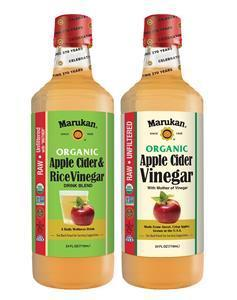 Take 1 oz. daily of Marukan® Organic Apple Cider & Rice Vinegar Drink Blend - a blend of apple cider vinegar and rice vinegar designed to take the bitterness out of the ACV wellness routine - or use the Organic ACV in a recipe to join in the 24-Day Challenge. Both new products include the Mother of Vinegar and are raw, unfiltered, gluten-free, and fat-free, as well as certified organic, Non-GMO, and Kosher. They are now available at grocery stores, specialty health and natural food retailers nationwide, and on Amazon.com.