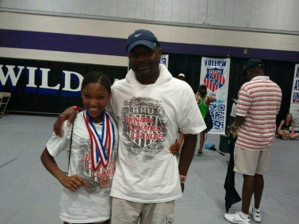 Ty Davis coached Tara from the time she was 4 until college. (photo courtesy Ty Davis)