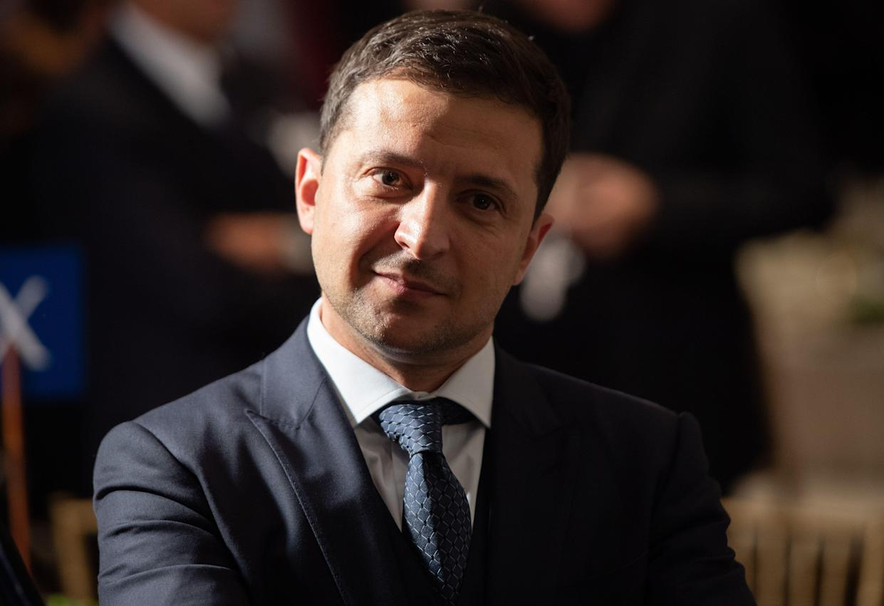 Ukrainian President Volodymyr Zelensky. (Photo: Saul Loeb/AFP/Getty Images)