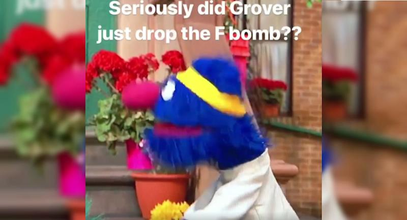 Viral Reddit Post Might Prove Grover Is Dropping the F-Bomb in