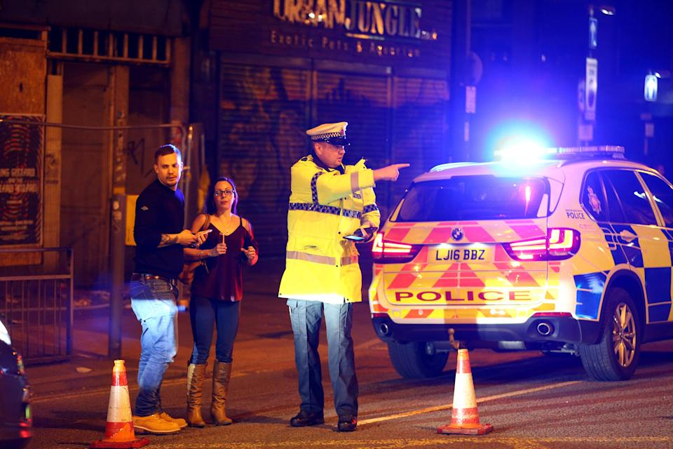 Fake news swept across the internet in the aftermath of a deadly explosion at an Ariana Grande concert in Manchester, England, on Monday night.
