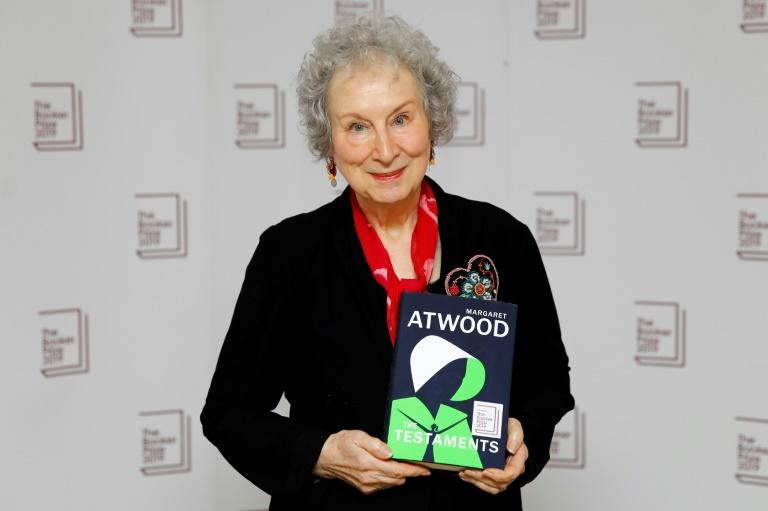 The other joint winner is Canadian author Margaret Atwood for her book 'The Testaments' (AFP Photo/Tolga AKMEN)