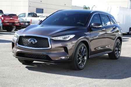 The Infiniti QX50 VC-Turbo is seen in Torrance