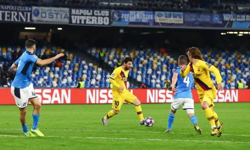 Napoli president questions decision to play Champions League tie in Barcelona