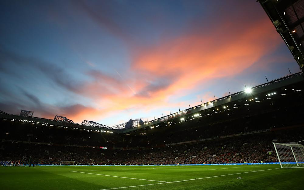 nice sunset at old trafford - Credit: GETTY