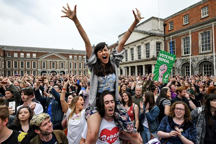 Ireland Votes In Favour of Law Reform In Abortion Referendum (Jeff J Mitchell / Getty Images file)