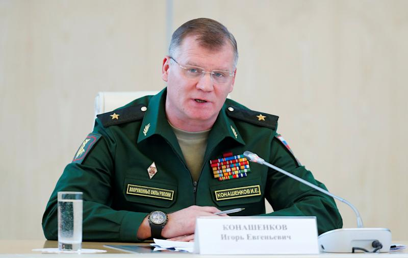 Russia Says U.S. Is 'Main Obstacle' to 'Final Annihilation of ISIS'