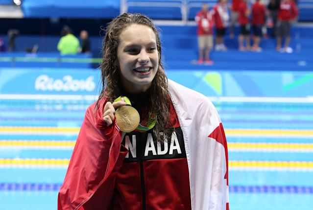 <p>It sure didn't take long for 16-year-old Toronto native Penny Oleksiak to solidify her status as one of the most successful Olympians in Canada's history at the Games. the 2016 Rio Olympic Games saw Oleksiak become the first Canadian athlete to win four medals at a single Summer Games. Oleksiak shared the gold medal in the women's 100m freestyle with American Simone Manuel, one of four medals that Penny brought home from Rio. The others include a bronze in the women's 4x100m freestyle relay, a bronze in the women's 4x200m freestyle relay, and a silver in the women's 100m butterfly. </p>