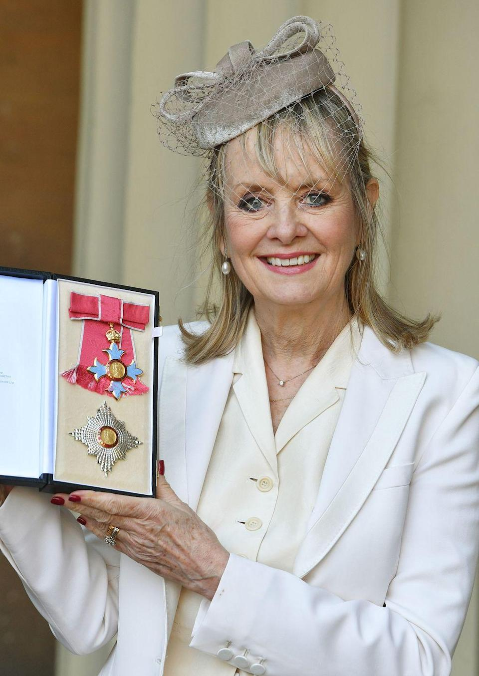 <p>The supermodel became an official Dame Commander of the Order of the British Empire (DBE) in March 2019.</p>