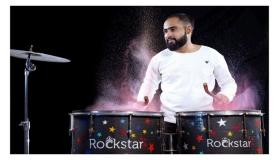 The Kutchi Rockstar Soyam Ladka is all set to surprise everyone with his very own designed drum