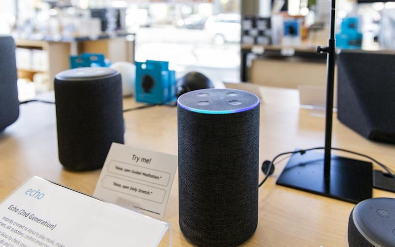 Amazon sells a number of smart speakers made with Alexa technology - Bloomberg