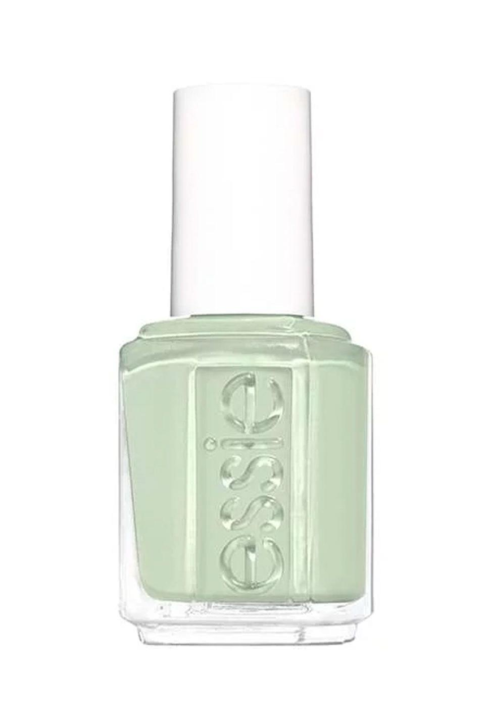 """<p><strong>Essie</strong></p><p>essie.com</p><p><strong>$9.00</strong></p><p><a href=""""https://www.essie.com/nail-polish/enamel/greens/can-dew-attitude"""" rel=""""nofollow noopener"""" target=""""_blank"""" data-ylk=""""slk:SHOP NOW"""" class=""""link rapid-noclick-resp"""">SHOP NOW</a></p><p>Spring is all about the pastels, and this jade green is lively yet chic. Whether you wear it to brunch with friends or study hall, your nails will look crisp af in this shade.</p>"""