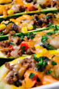 """<p>More meat. Less carbs.</p><p>Get the <a href=""""http://www.delish.com/uk/cooking/recipes/a30312055/burrito-zucchini-boats-recipe/"""" rel=""""nofollow noopener"""" target=""""_blank"""" data-ylk=""""slk:Courgette Burrito Boats"""" class=""""link rapid-noclick-resp"""">Courgette Burrito Boats</a> recipe.</p>"""