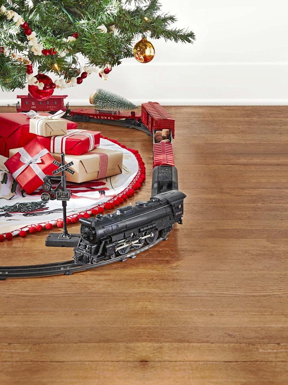 """<p>Young inventor Joshua Lionel Cowen launched his then-New York City-based Lionel Manufacturing Co. in 1900 with a standard gauge electric locomotive. After World War II, Lionel expanded its O-gauge steam locomotive offerings, including a series of """"O27"""" gauge train sets, like the one pictured here. Priced as low as $19.95, the starter sets had plenty of tempting add-on cars and accessories that could be acquired year after year. </p><p><strong>What it's worth:</strong> Up to $500</p>"""