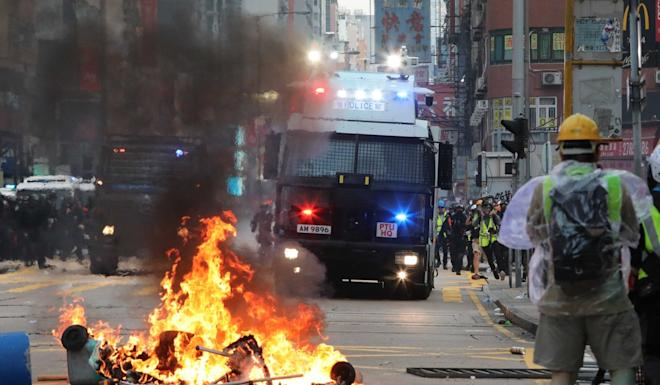 The extradition bill triggered Hong Kong's worst social unrest in decades. Photo: Felix Wong