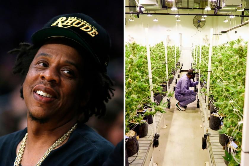 Photos released October 23 tease Jay-Z's latest venture in the cannabis space -- a new brand called Monogram.
