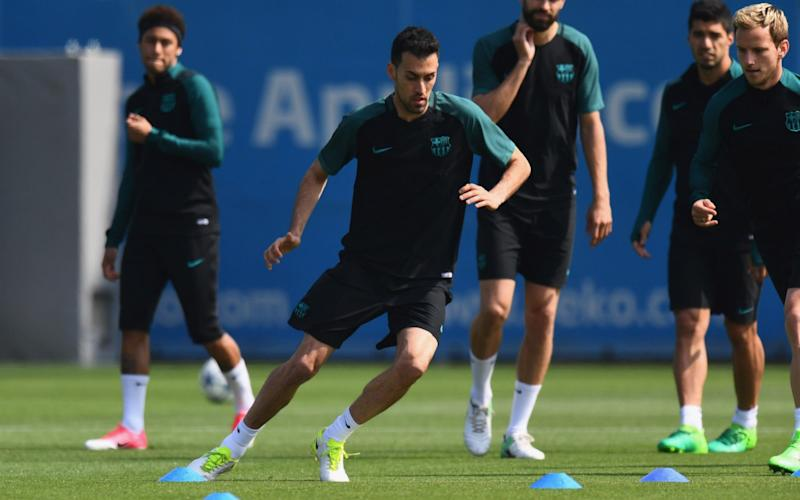 Busquets - Credit: Getty Images