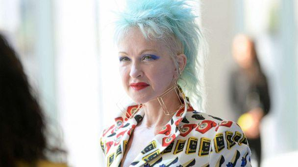 PHOTO: Cyndi Lauper attends Libertine fashion show during New York Fashion Week: The Shows at Gallery II at Spring Studios, Sept. 11, 2019, in New York. (Roy Rochlin/Getty Images)