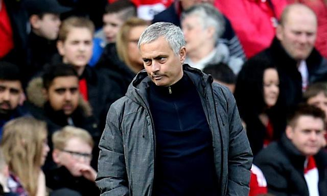"<span class=""element-image__caption"">José Mourinho described Manchester United's 3-1 win as a 'massive victory for us' but walked out of the post-match press conference when asked about an altercation among the players in the tunnel.</span> <span class=""element-image__credit"">Photograph: Stephenson/JMP/Rex/Shutterstock</span>"