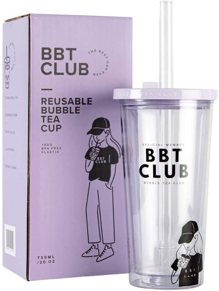 Bubble Tea Club's Reusable Boba Cup, about $32.50 from Amazon. Photo: Amazon.