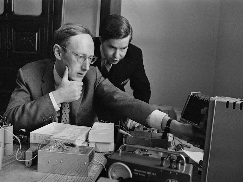 Sinclair in 1964, three years after he founded his company Sinclair Radionics (Getty)
