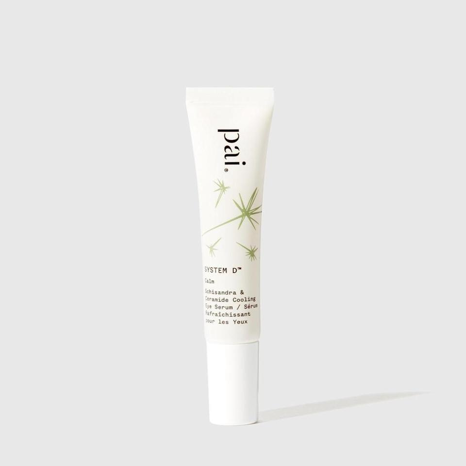 <p>The <span>Pai Skincare System D Cooling Eye Serum</span> ($59) has a cooling gel texture infused with ceramides to strengthen the skin's barrier. </p>
