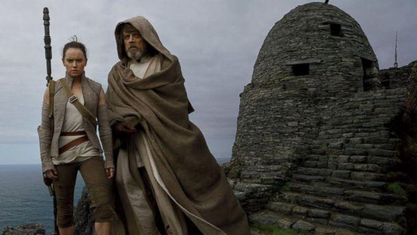 PHOTO: Mark Hamill and Daisy Ridley in a scene from 'Star Wars: The Last Jedi.'  (LucasFilm Ltd.)