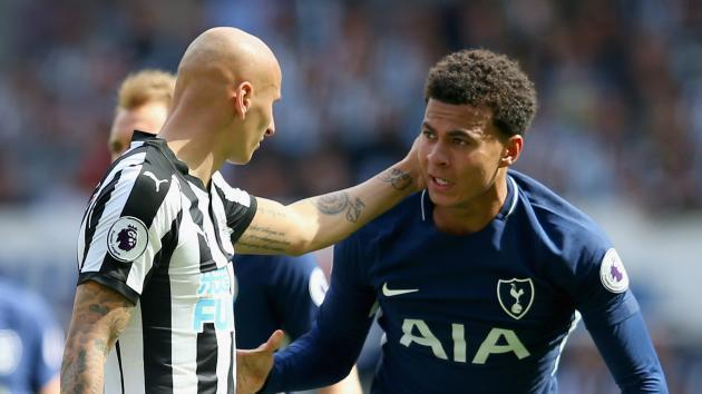 There was no need to react - Alli vows to keep cool after Shelvey incident