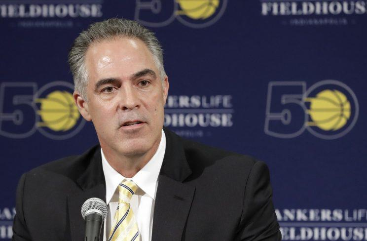 Pacers president of basketball operations Kevin Pritchard acted quickly when caution might have been wiser. (AP)