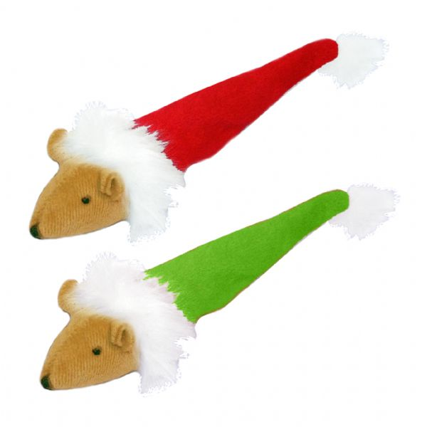 """<p>A festive plush catnip-filled mouse for your kitty to destroy.</p><p>£1.49 <a href=""""http://www.petplanet.co.uk/product.asp?dept_id=5947&pf_id=67707"""" rel=""""nofollow noopener"""" target=""""_blank"""" data-ylk=""""slk:Pet Planet"""" class=""""link rapid-noclick-resp"""">Pet Planet</a></p>"""