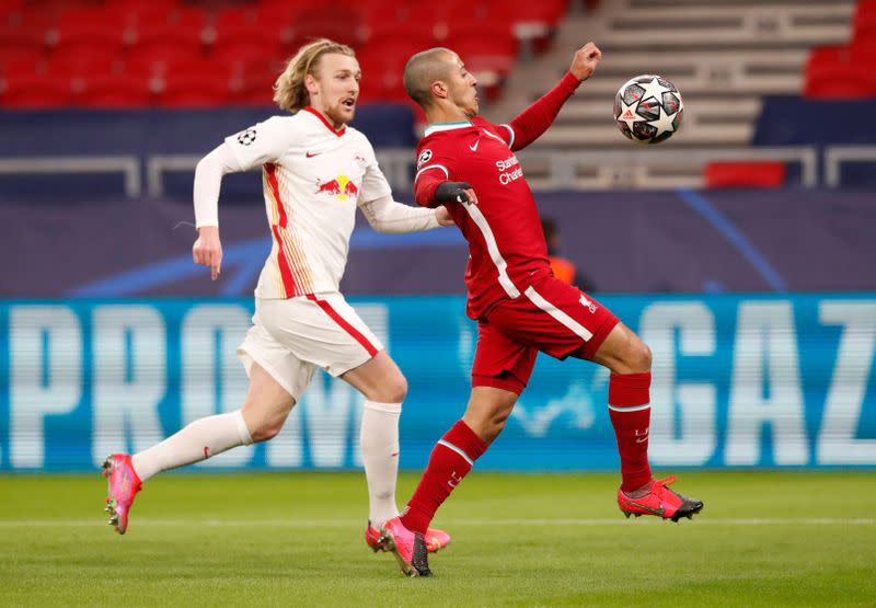 FILE PHOTO: Champions League - Round of 16 Second Leg - Liverpool v RB Leipzig