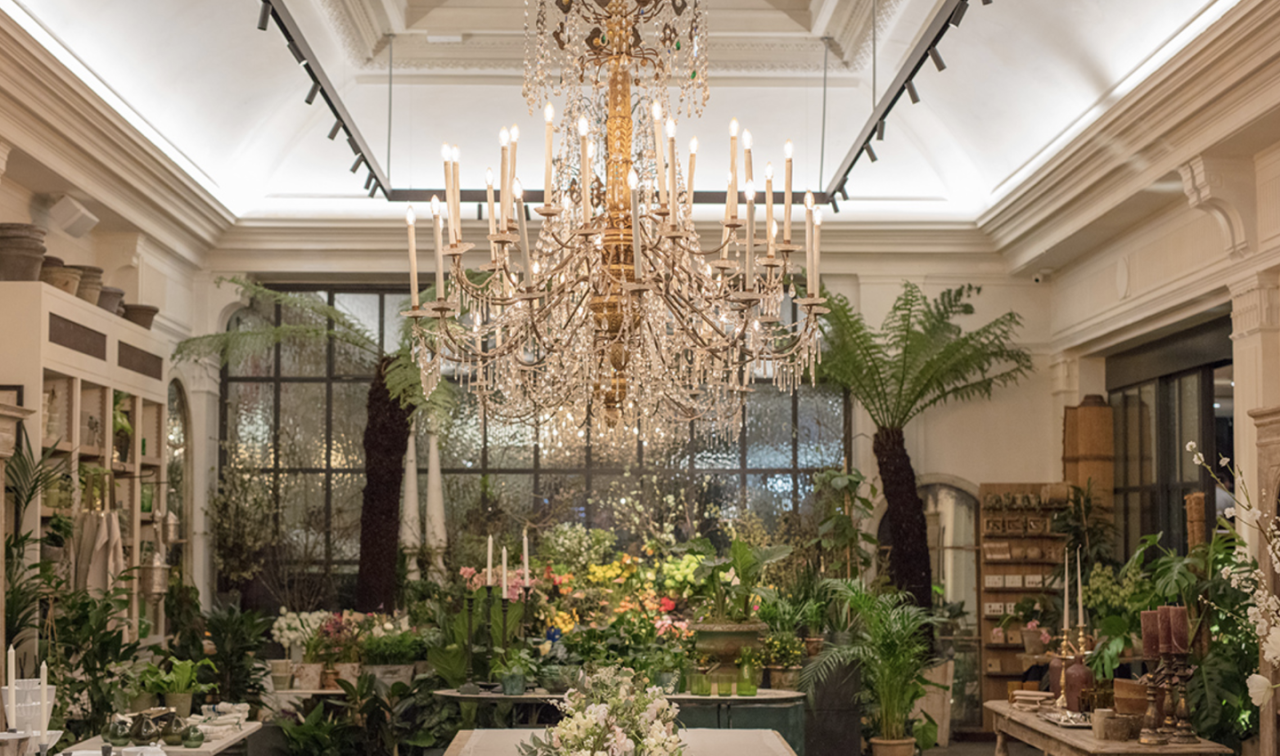 "<p>Learn the secrets of making a wild and scented floral bouquet in a relaxed yet stunning surrounding. Petersham Nurseries in Covent Garden is one of London's most beautiful stores, an experience on even on its own. You'll be able to gift wrap your bouquet and take it home with you, too.</p><p><a class=""body-btn-link"" href=""https://www.designmynight.com/london/whats-on/classes/hand-tied-bouquet-workshop-3"" target=""_blank"">BOOK NOW</a><strong> £65</strong></p>"
