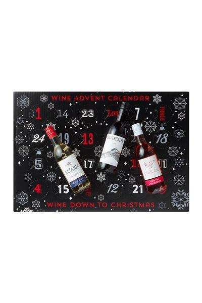 <p>Wine, wine, wine. Christmas really is the reason for drinking (responsibly!). Including a faultless selection of wines, Chardonnay, Zinfandel, Merlot, Pinot Grigio AND more, this advent is simply perfect for those of you who love your wine.</p><p><strong>Available in Iceland, £40.00</strong></p>