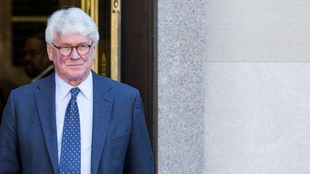 PHOTO: Greg Craig, former White House counsel to former President Barack Obama departs from the U.S. District Courthouse following a hearing on April 15, 2019 in Washington, D.C. (Zach Gibson/Getty Images, FILE)