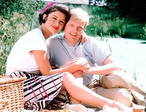Catherine Zeta Jones and Philip Franks starred alongside the actor in the hit TV series 'The Darling Buds of May'