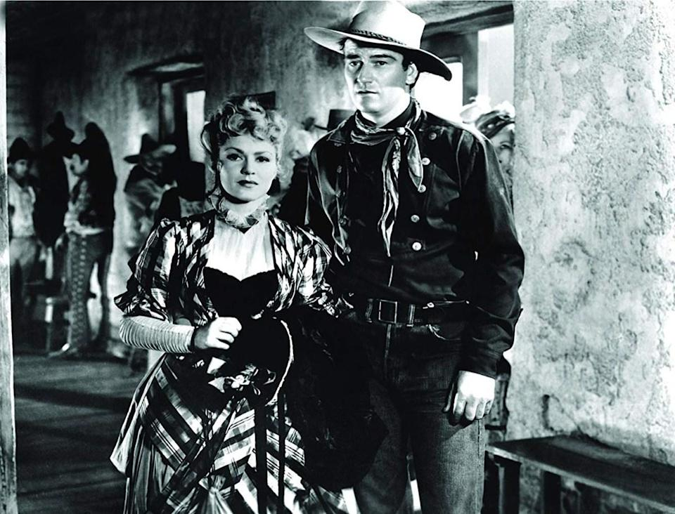 """There are at least two movies in which people remember <strong>John Wayne</strong> saying this line: 1939's <em>Stagecoach</em> and 1953's <em>Hondo</em>. But, as it turns out, he doesn't say it in either. In <em>Stagecoach</em>, the Duke comes close with the line, """"Well, there's some things a man just can't run away from."""" It's kind of the same thing, but not really. In <em>Hondo</em>, Wayne's character declares that, """"A man ought'a do what he thinks is best,"""" which is at least in the ballpark. But are the things a man has to do also what he thinks are best? A debate for the ages."""