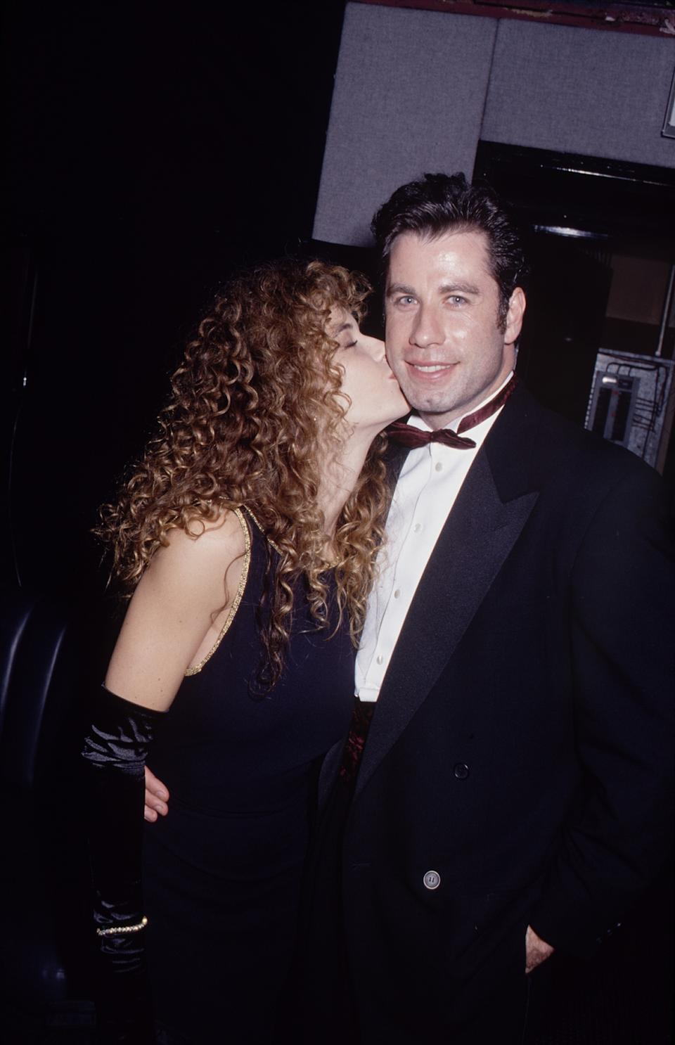 UNITED STATES - Actor John Travolta and his wife, actress Kelly Preston.  (Photo by The LIFE Picture Collection via Getty Images)