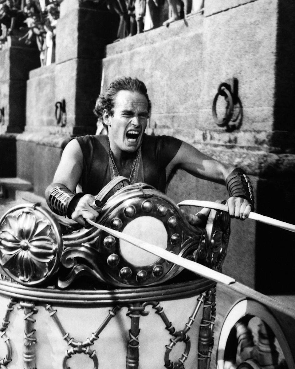 "<p><em>Ben-Hur</em> is released on November 18, and will end up winning 11 Academy Awards (a record, until 1997's <em>Titanic</em> breaks it in 1998). </p><p><em>RELATED: <a href=""https://www.goodhousekeeping.com/life/g19809308/titanic-facts/"" rel=""nofollow noopener"" target=""_blank"" data-ylk=""slk:35 Fascinating Details About the Titanic That You Probably Never Knew"" class=""link rapid-noclick-resp"">35 Fascinating Details About the Titanic That You Probably Never Knew</a></em></p>"