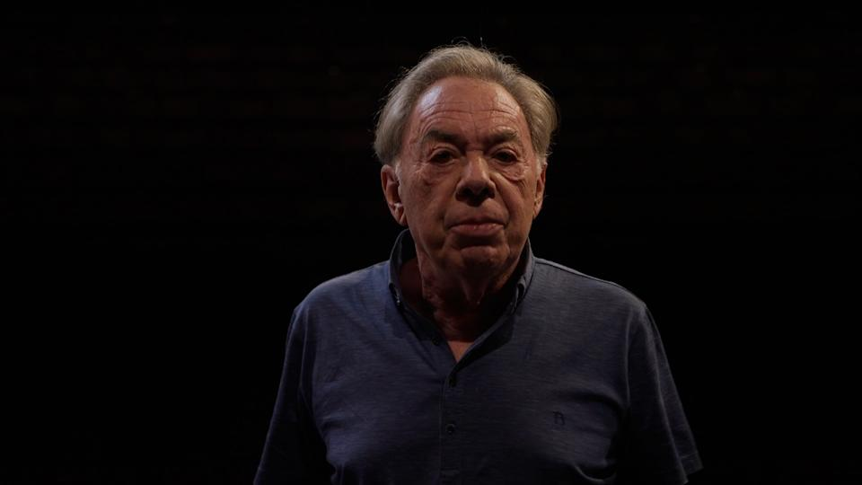 Andrew Lloyd Webber, has accused the Government of ???idiocy??? after the ???blunt instrument??? of its self-isolation rules resulted in the cancellation of performances of his West End show Cinderella. Picture date: Monday July 19, 2021. (Photo by PA Video/PA Images via Getty Images)